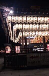 Gion Festival Mikoshi Yasaka Shrine 2021
